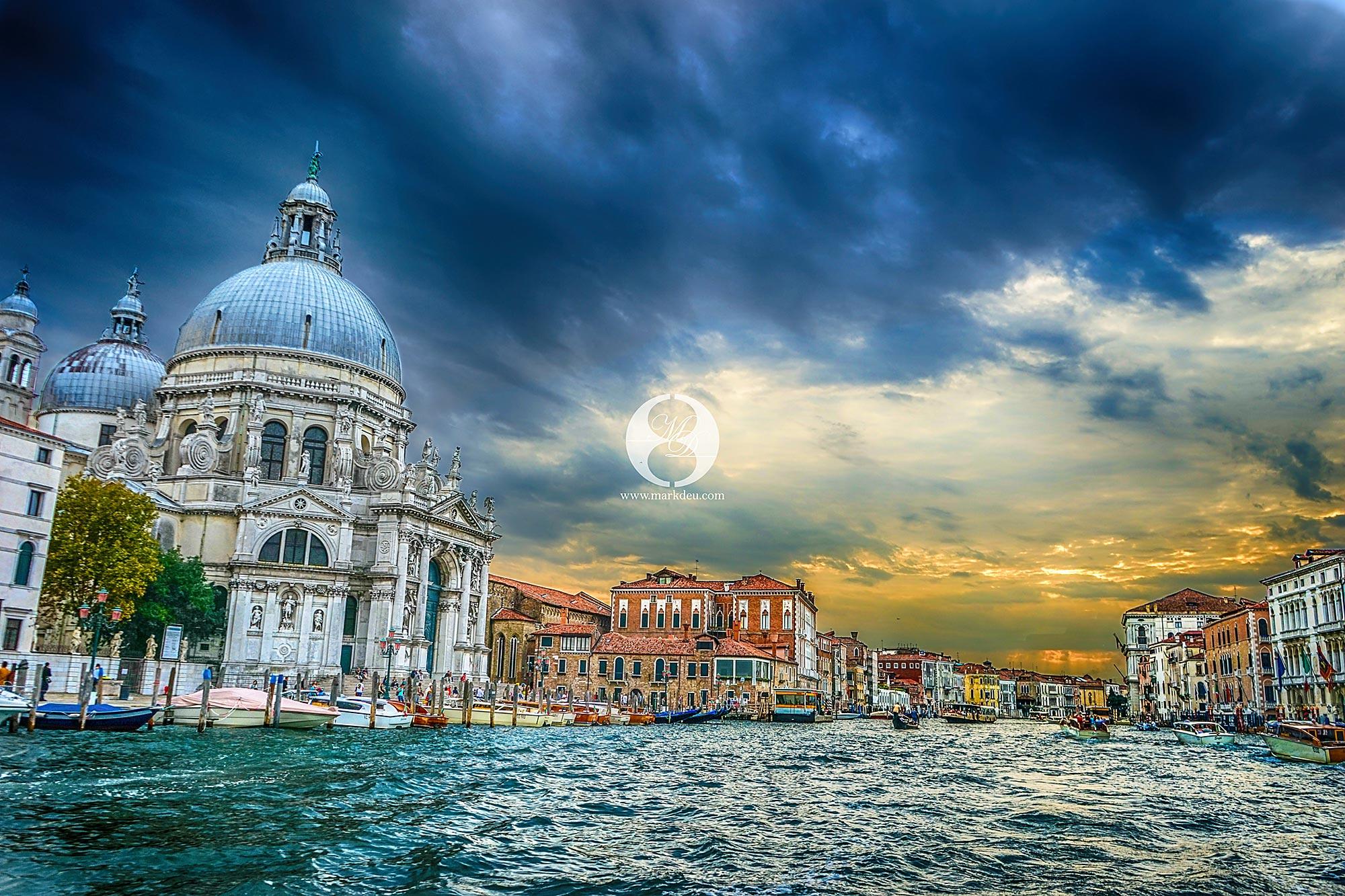 Venedig Sehenswürdigkeiten Sonnenuntergang